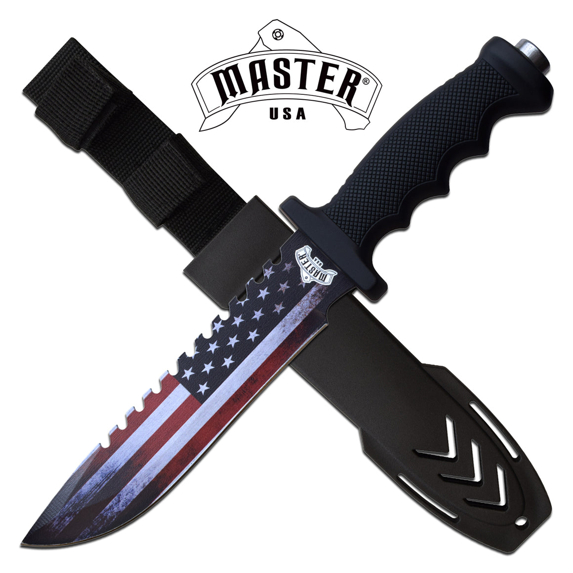 Masters USA MU-20-04A Fixed Blade Knife