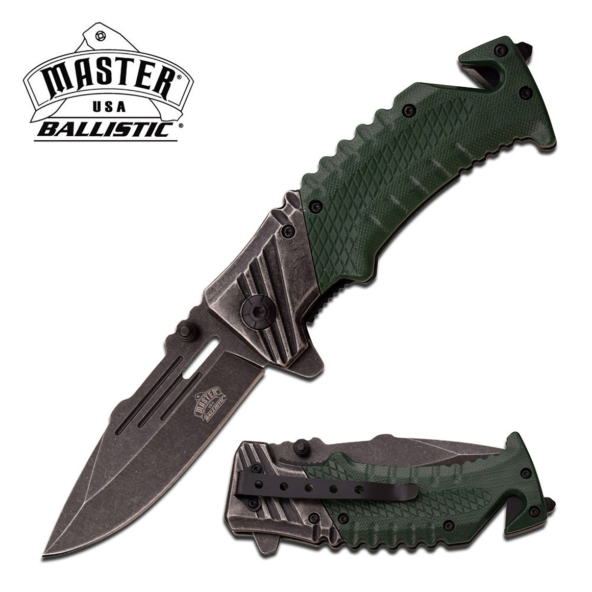 Master USA MU-A028GN Spring Assisted Knife