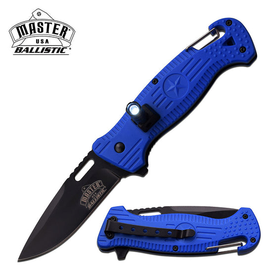 Master USA MU-A035BL Spring Assisted Knife