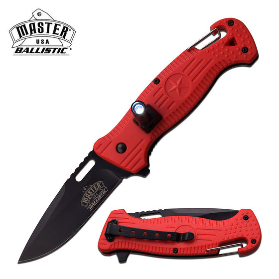 Master USA MU-A035RD Spring Assisted Knife