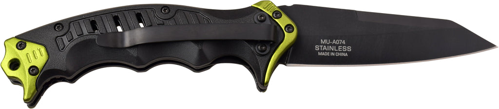 Master USA MU-A074YL Spring Assisted Knife