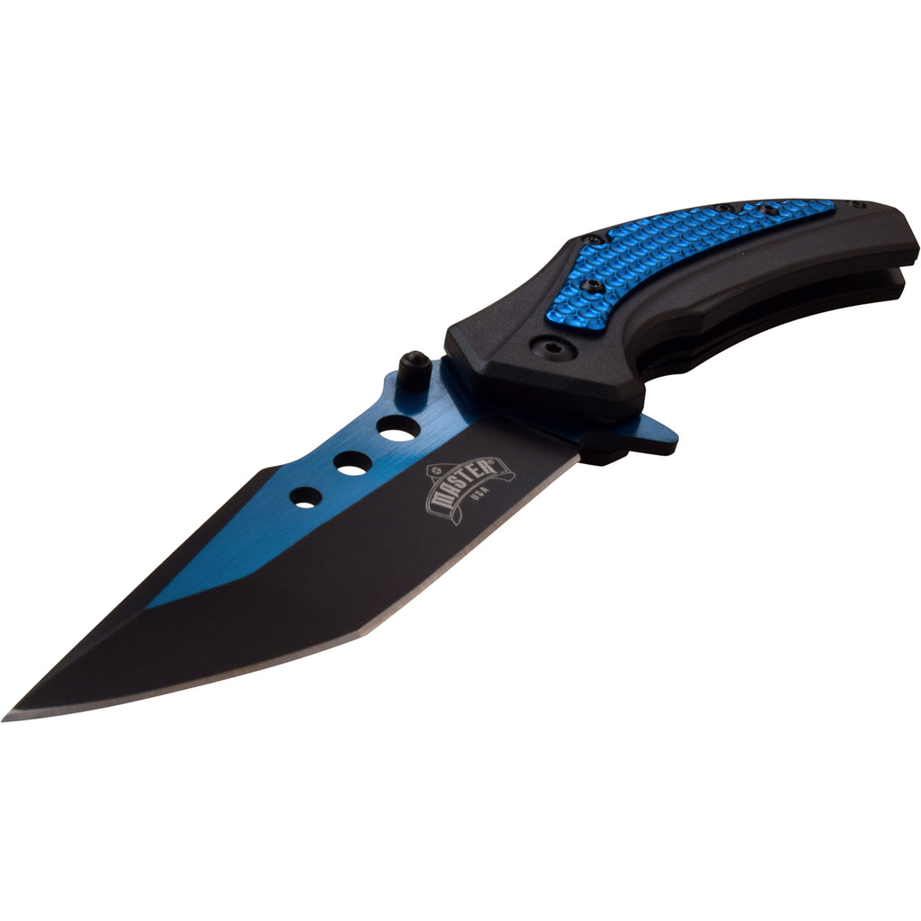 Masters USA MU-A077BL Spring Assisted Knife