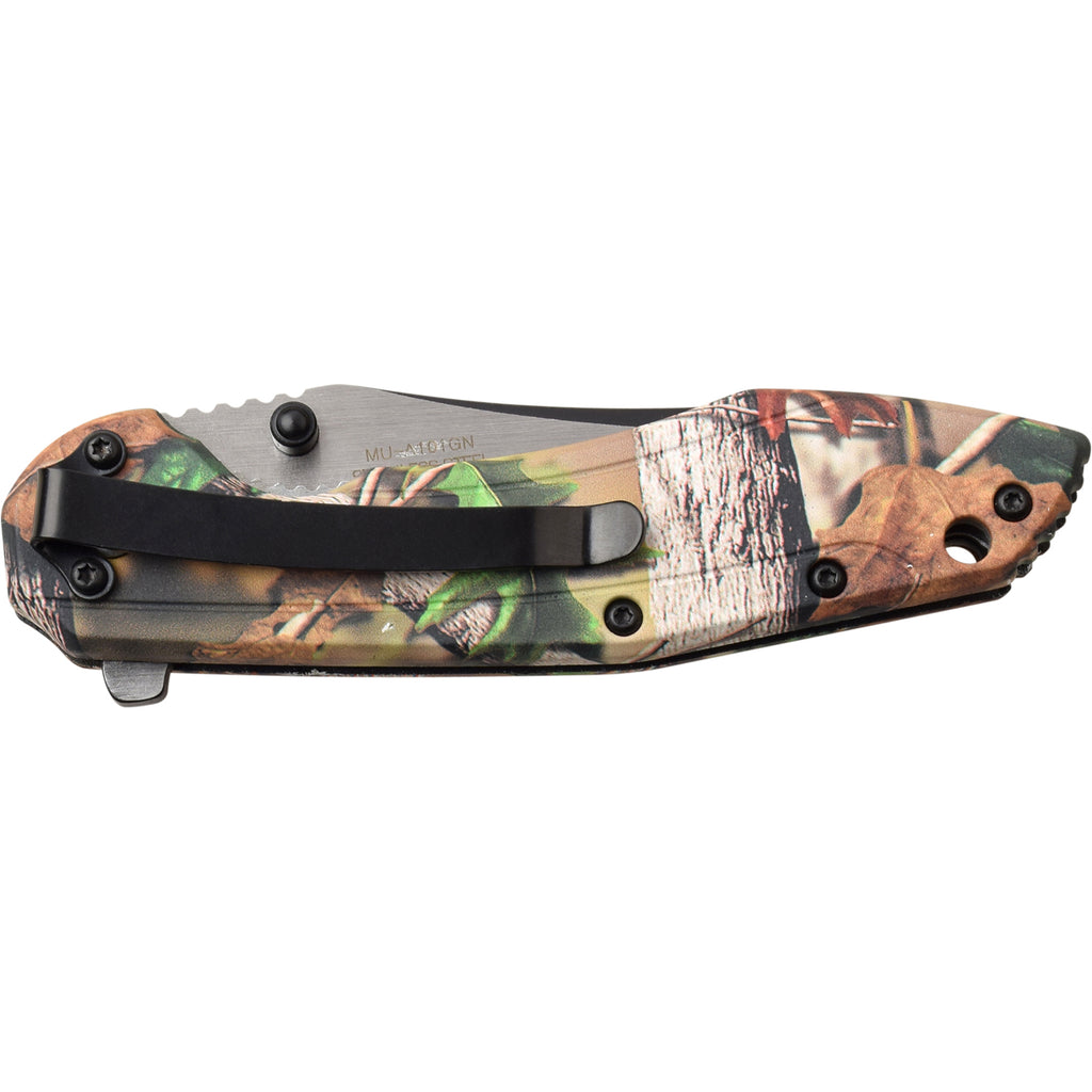 Masters USA MU-A101GN Spring Assisted Knife