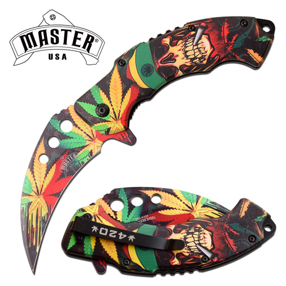Masters USA MU-A107 Spring Assisted Knife