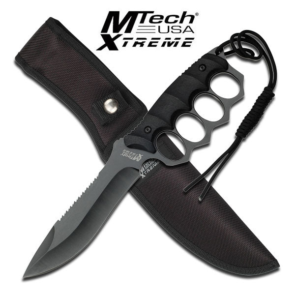 MTech USA MX-8092BK Fixed Blade Knife