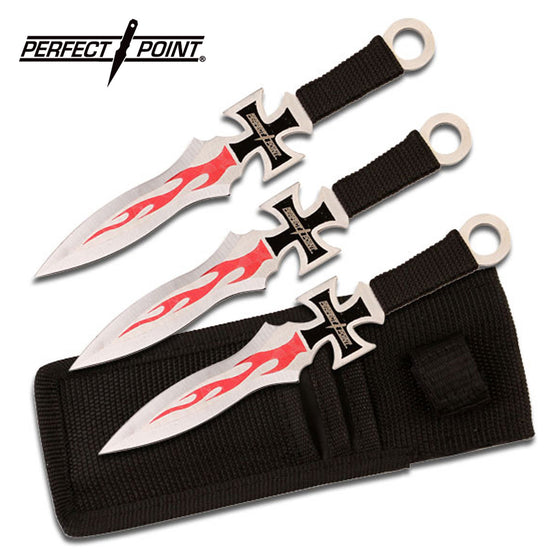 Perfect Point PP-020-3 Throwing Knife Set