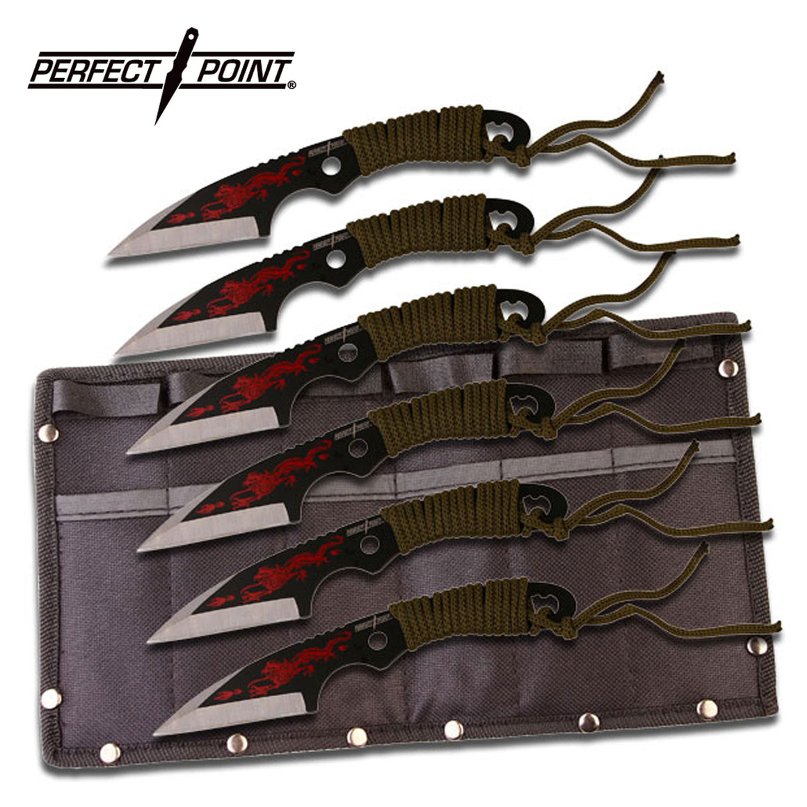 Perfect Point PP-023-6 Throwing Knife Set