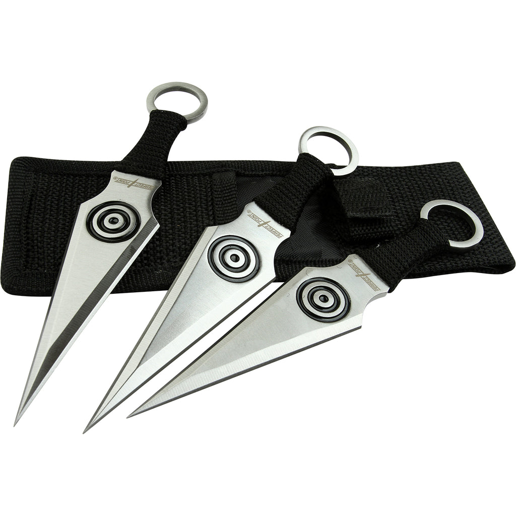 Perfect Point PP-028-3BK Throwing Knife Set
