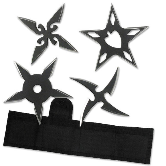 RC-106-4B Throwing Star Set