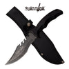 Related product : Survivor SV-FIX007SW Fixed Blade Knife