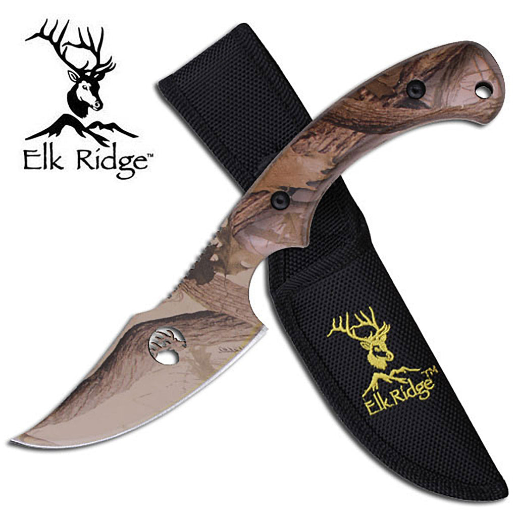 Elk Ridge TA-28GC Fixed Blade Knife