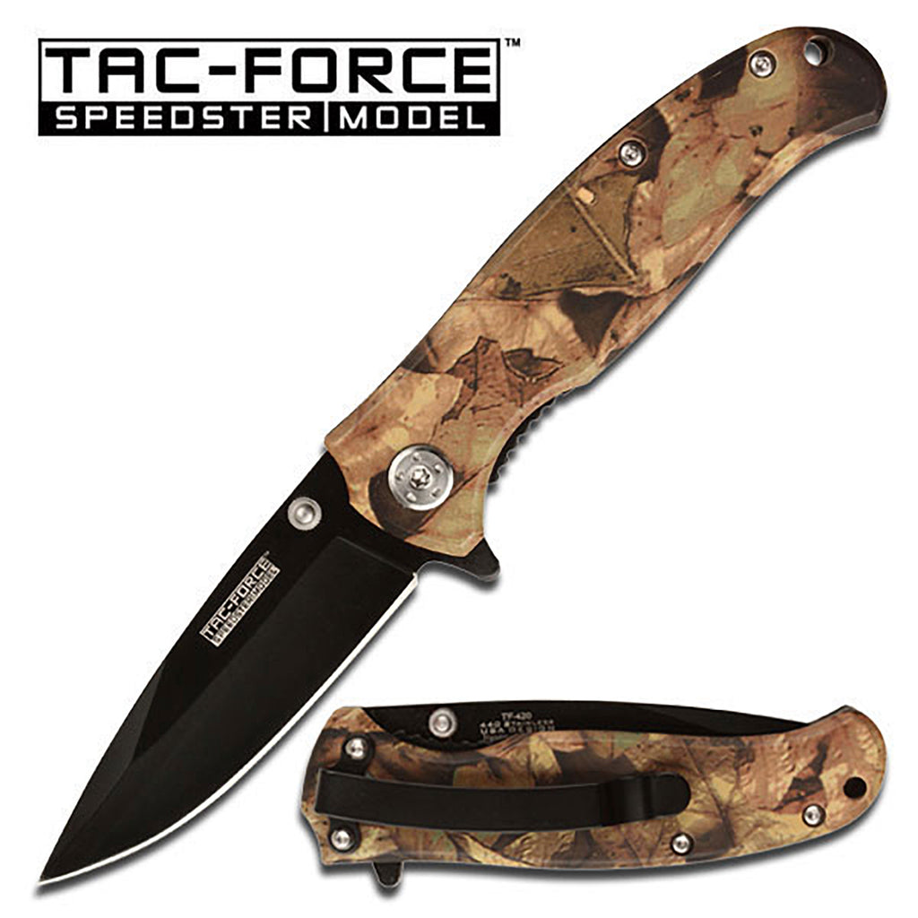 Tac-Force TF-420JC Spring Assisted Knife