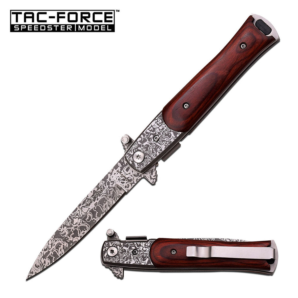Tac-Force TF-428DMW Spring Assisted Knife