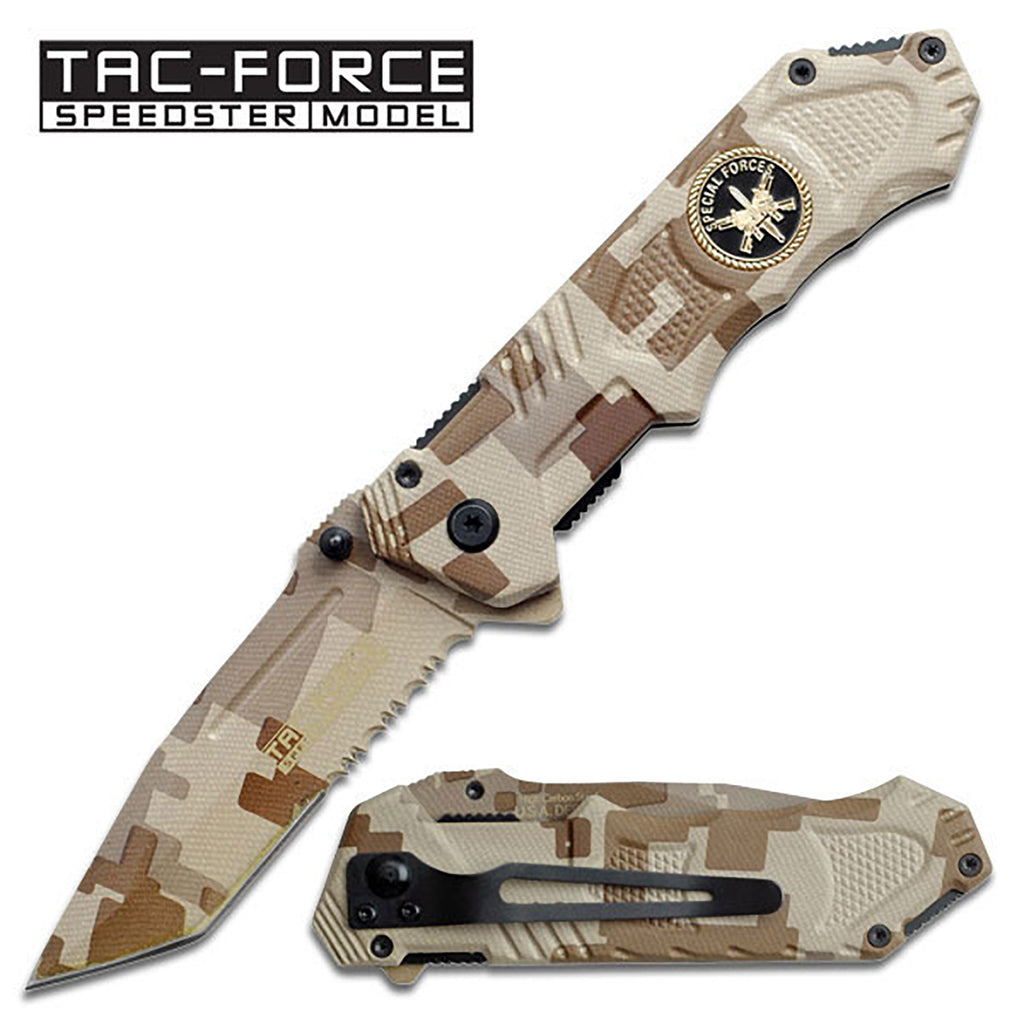 Tac-Force TF-458SF Spring Assisted Knife