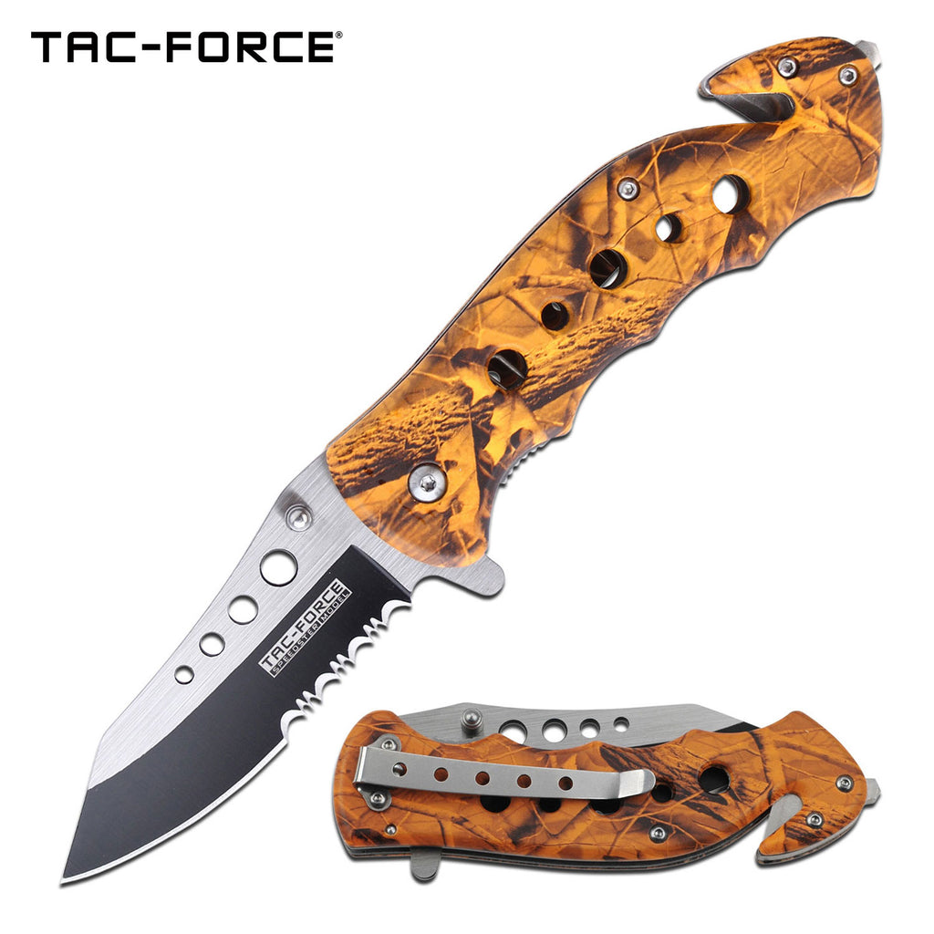 Tac-Force TF-498OC Spring Assisted Knife
