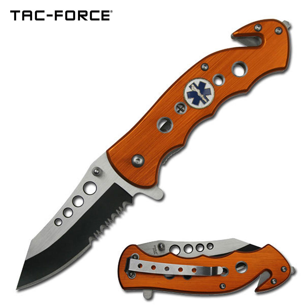 Tac-Force TF-498OE Spring Assisted Knife