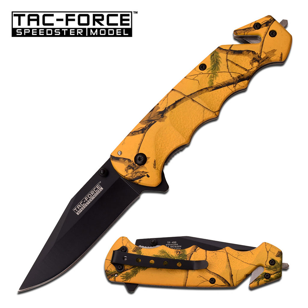 Tac-Force TF-499YC Spring Assisted Knife