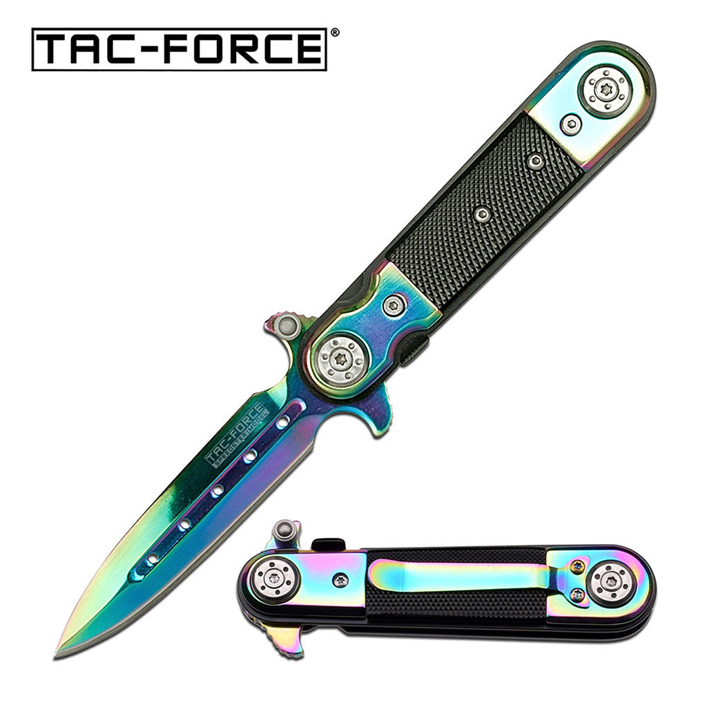Tac-Force TF-517RB Spring Assisted Knife