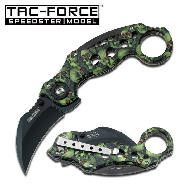 Tac-Force TF-578GNSC Spring Assisted Knife