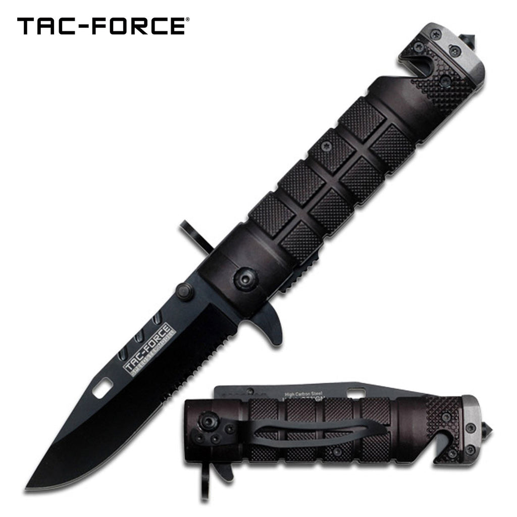 Tac-Force TF-636BGY Spring Assisted Knife