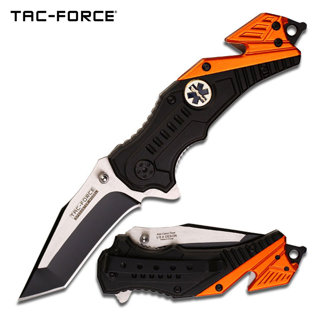 Tac-Force TF-640EMT Spring Assisted Knife