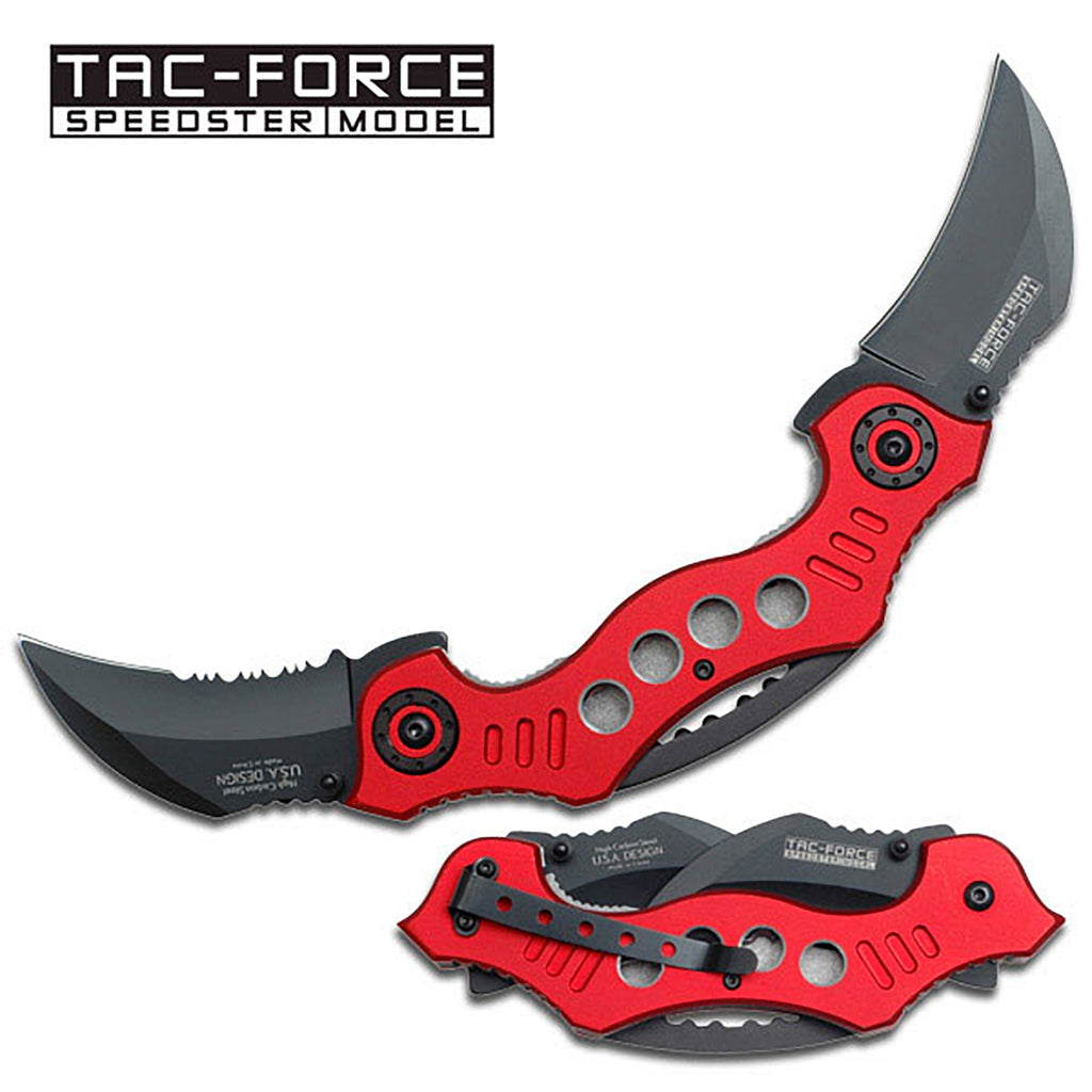 Tac-Force TF-669RD Spring Assisted Knife