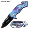 Related product : Tac-Force TF-686BL Spring Assisted Knife