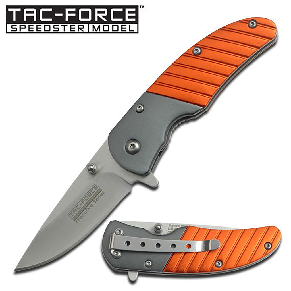 Tac-Force TF-732OR Spring Assisted Knife