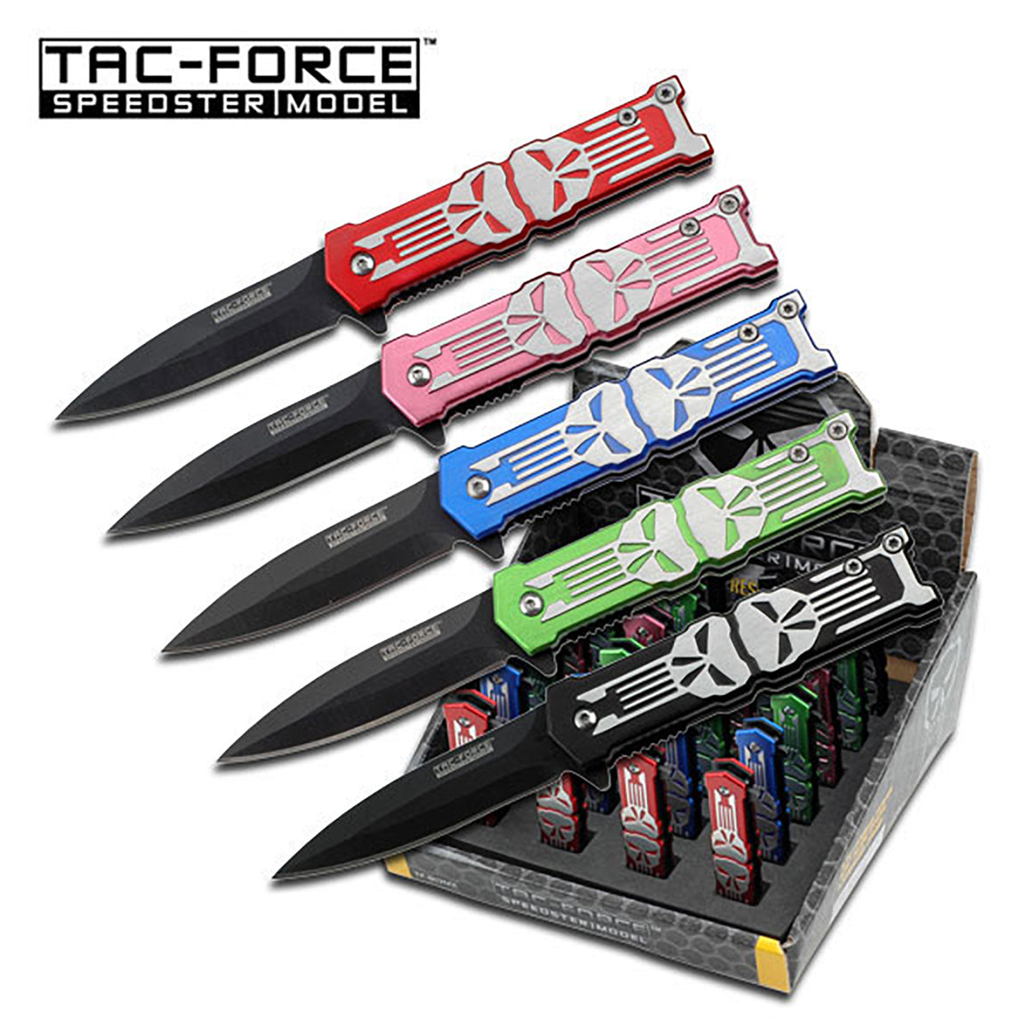 Tac-Force TF-802MX Spring Assisted Knife