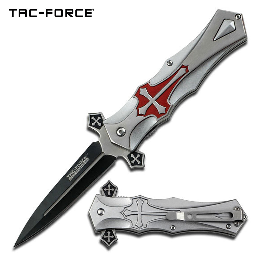 Tac-Force TF-817RD Spring Assisted Knife