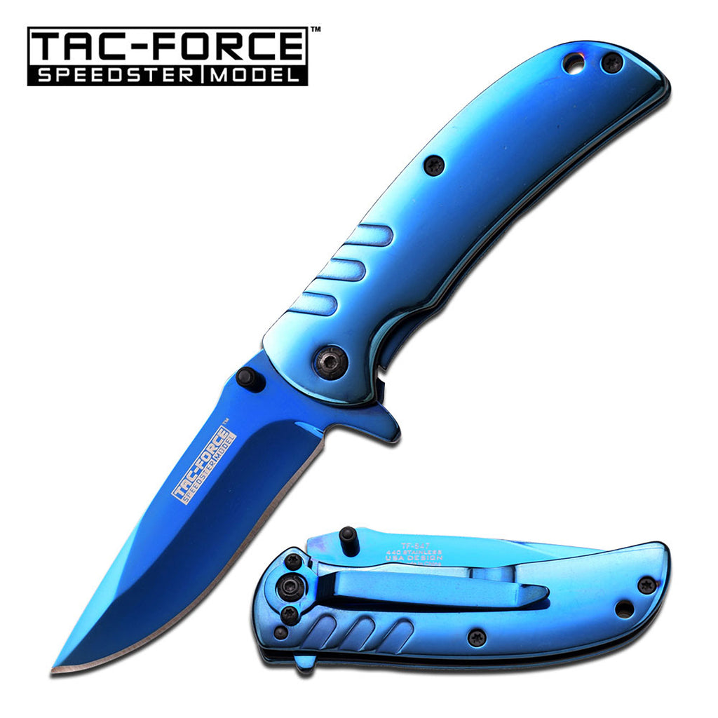 Tac-Force TF-847BL Spring Assisted Knife