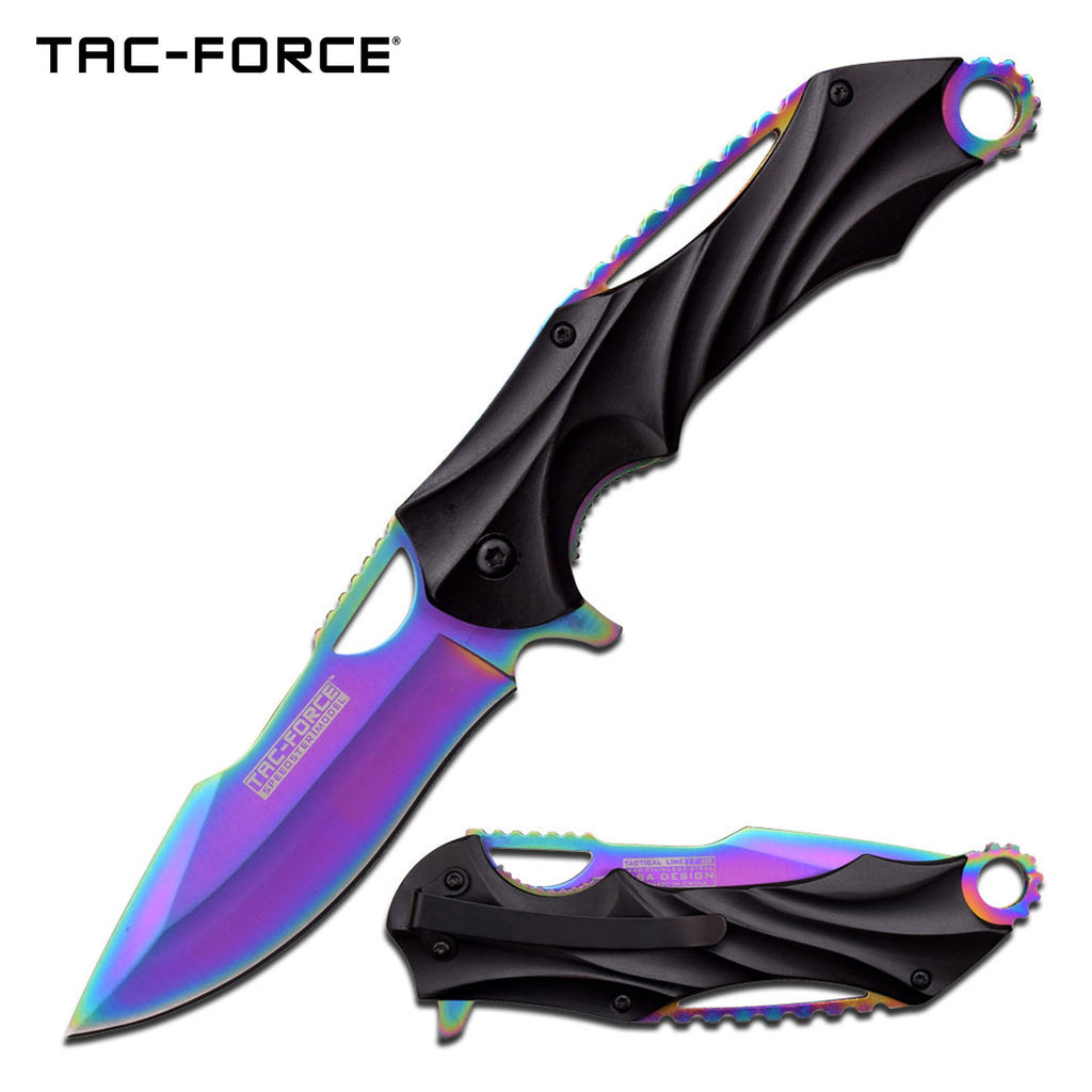 Tac-Force TF-858RB Spring Assisted Knife