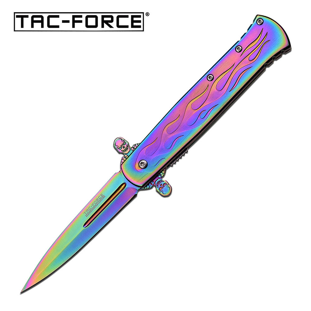 Tac-Force TF-873RB Spring Assisted Knife