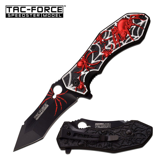 Tac-Force TF-898BR Spring Assisted Knife