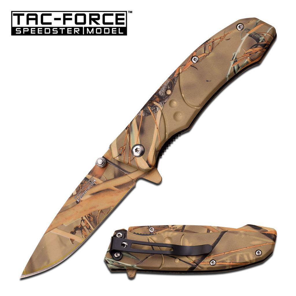 Tac-Force TF-907GC Spring Assisted Knife
