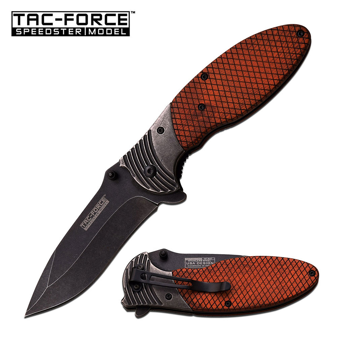 Tac-Force TF-910WD Spring Assisted Knife