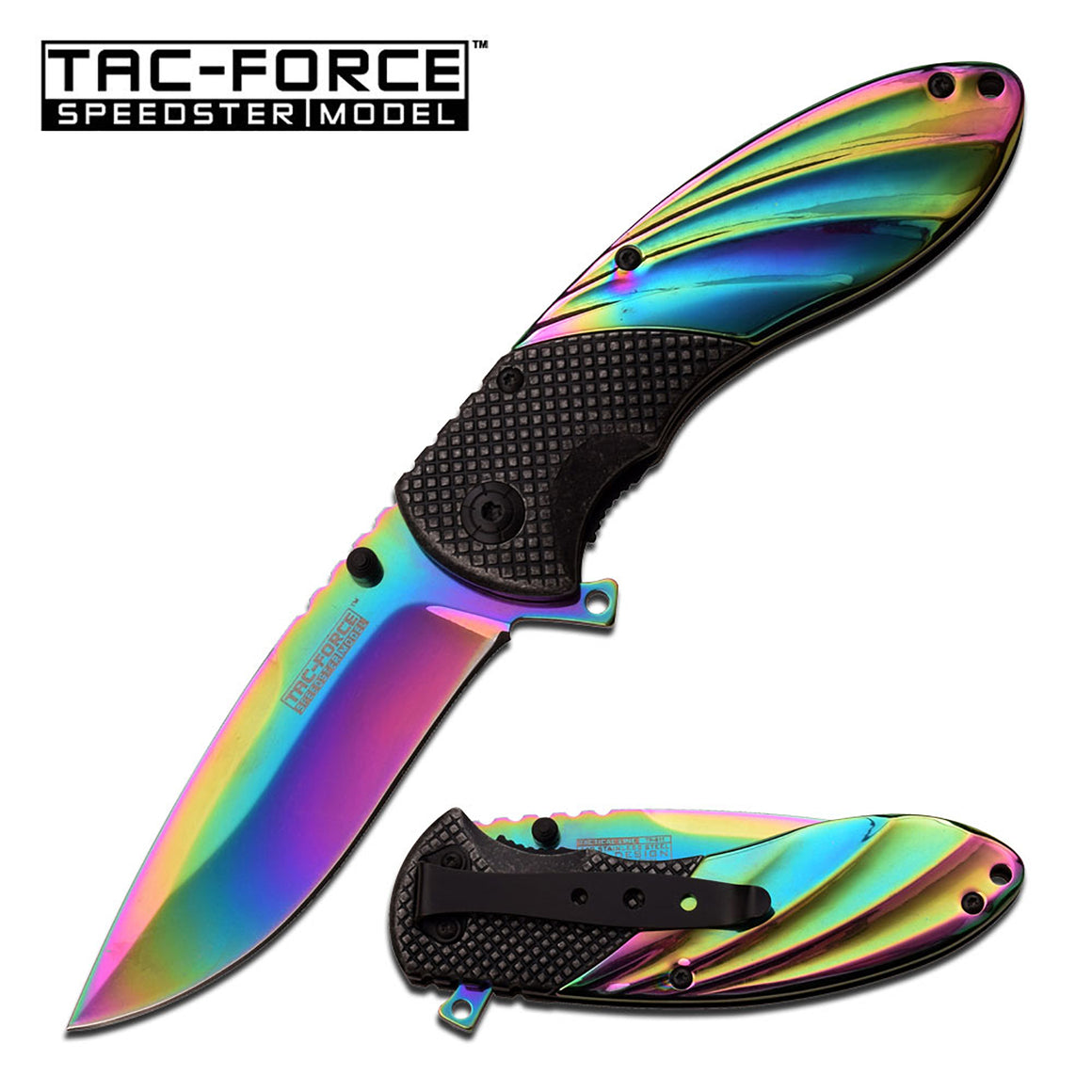 Tac-Force TF-911RB Spring Assisted Knife