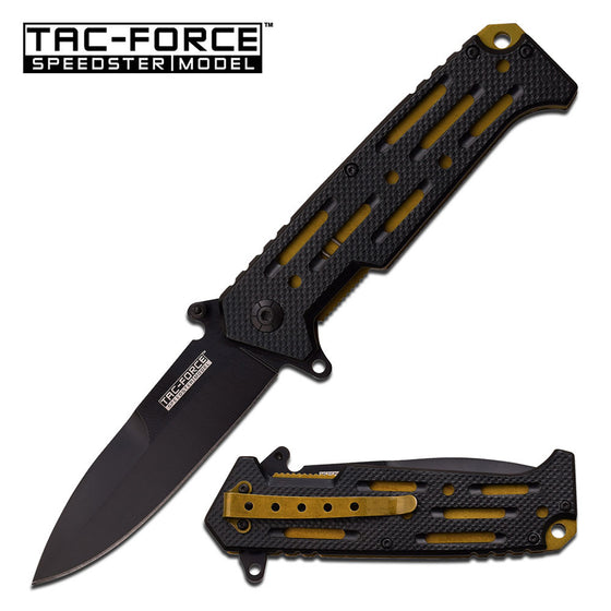 Tac-Force TF-912GD Spring Assisted Knife