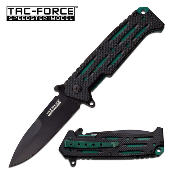 Tac-Force TF-912GN Spring Assisted Knife