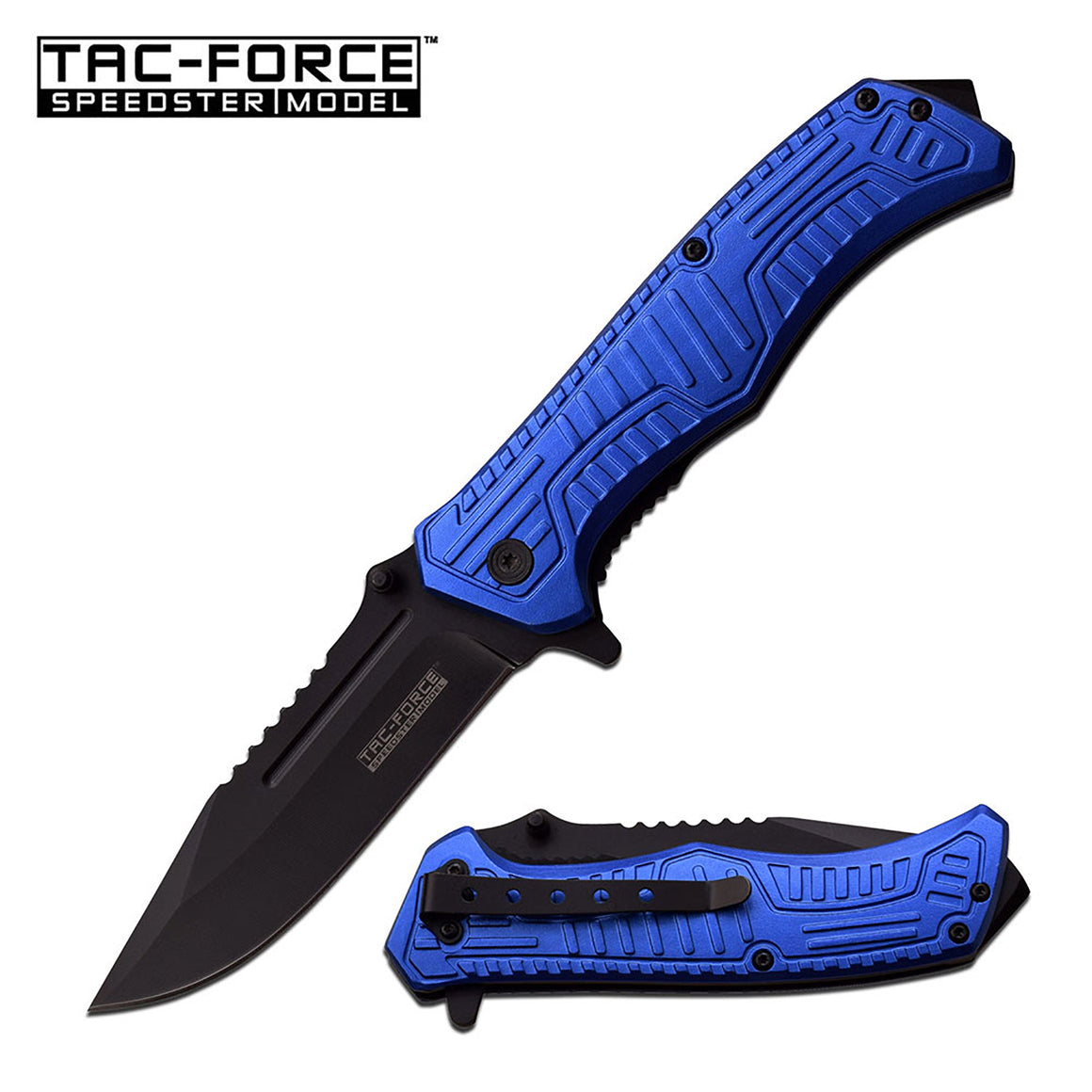 Tac-Force TF-918BL Spring Assisted Knife