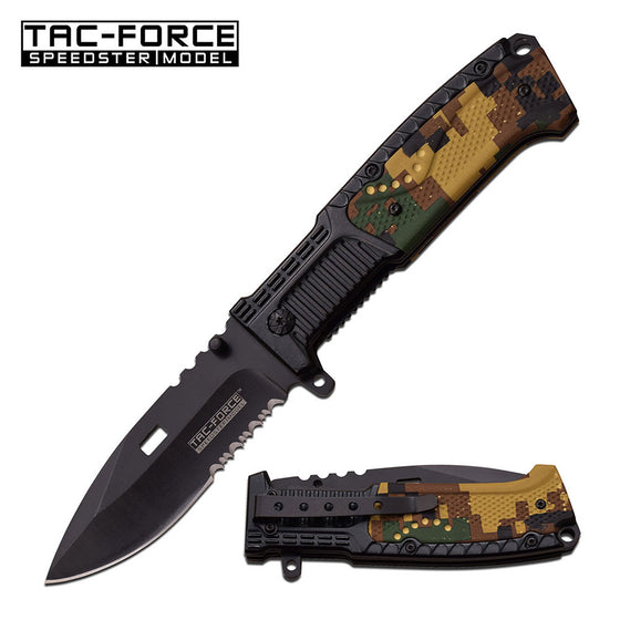 Tac-Force TF-928DG Spring Assisted Knife