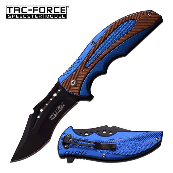 Tac-Force TF-931BL Spring Assisted Knife