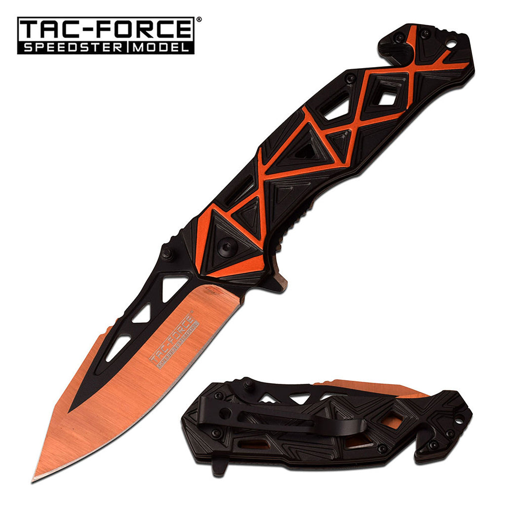 Tac-Force TF-940BO Spring Assisted Knife