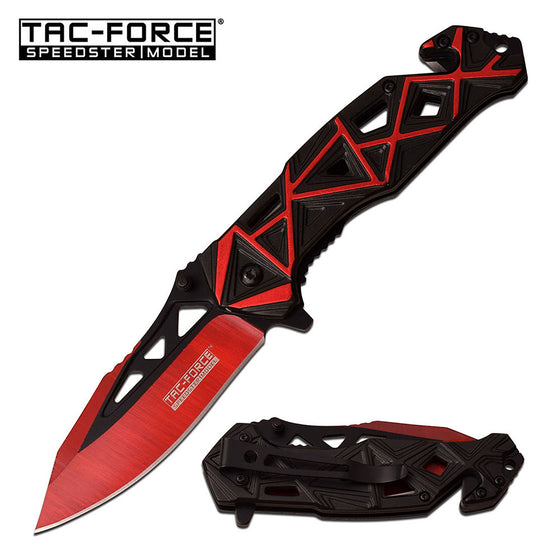 Tac-Force TF-940BR Spring Assisted Knife