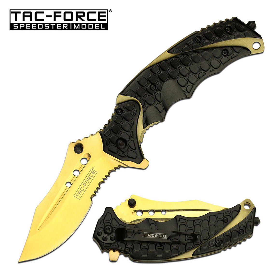 Tac-Force TF-943BG Spring Assisted Knife