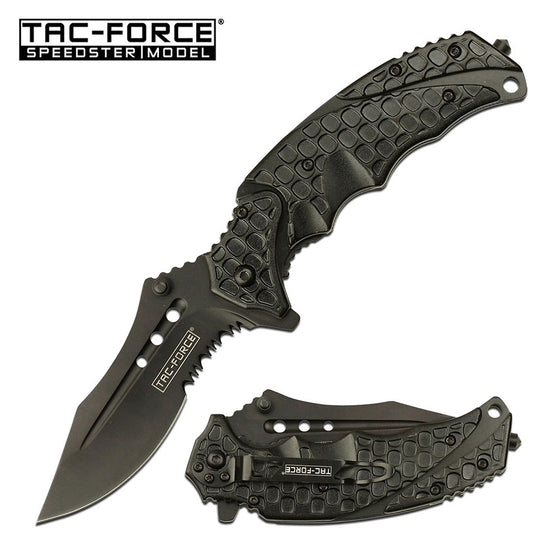 Tac-Force TF-943BK Spring Assisted Knife