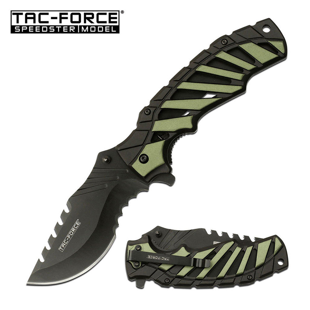 Tac-Force TF-944GN Spring Assisted Knife