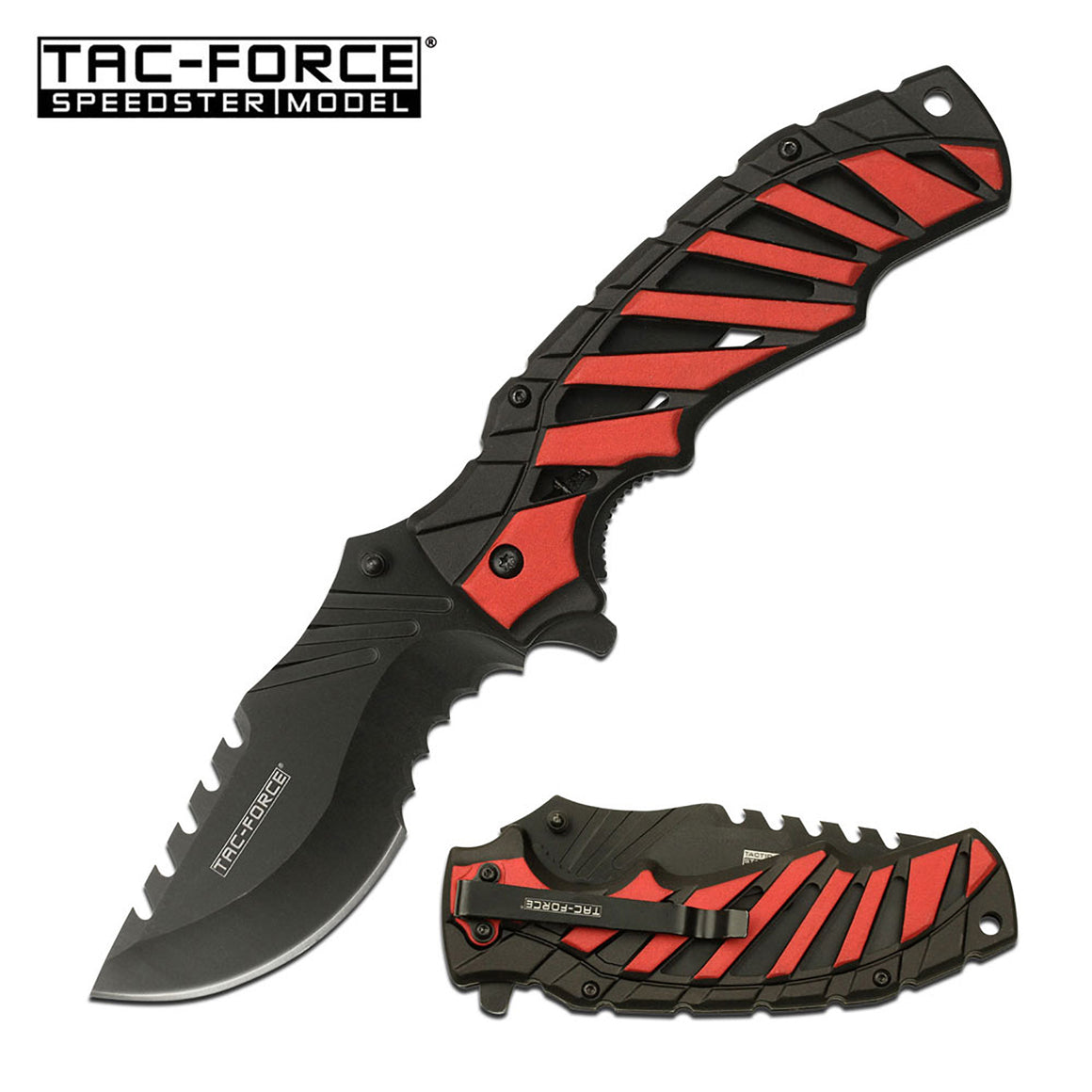 Tac-Force TF-944RD Spring Assisted Knife