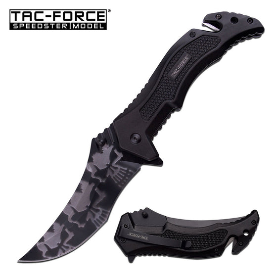 Tac-Force TF-946BK Spring Assisted Knife