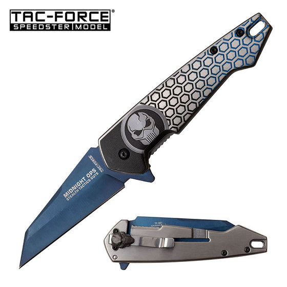 Tac-Force TF-951BL Spring Assisted Knife